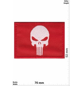 Punisher Punisher - red white - flag