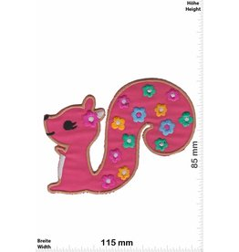 Eichhörnchen Squirrel - Flower