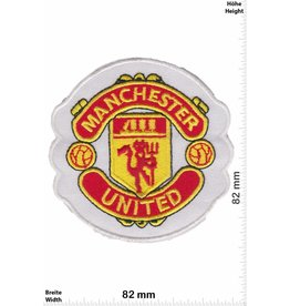 Manchester United  Manchester United Football Club -Man United - United - rot Devils - White