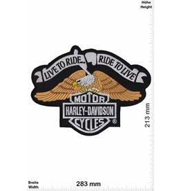 Harley Davidson Harley Davidson - Live to Ride - 28 cm