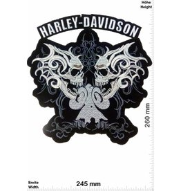 Harley Davidson Harley Davidson - 2 Skull - 26 cm