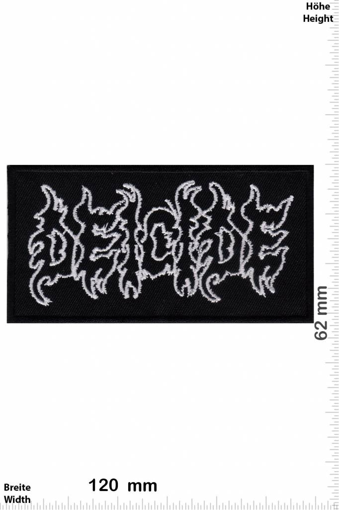 DEICIDE back patch embroidered new