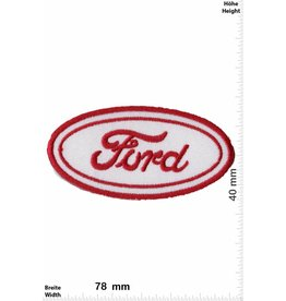 Ford Ford -  Logo - red white