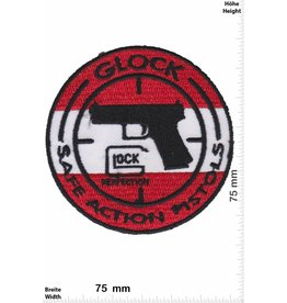 Glock GLOCK - Safe Action Pistols - red white