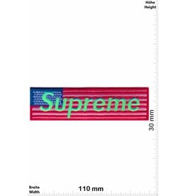 Supreme Supreme - USA - neongreen