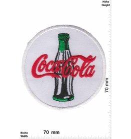 Coca Cola Coca Cola - white green - round