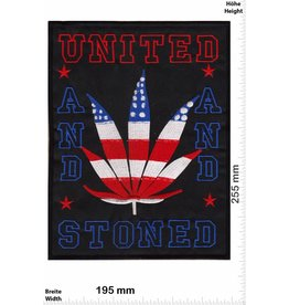 Weed United and Stoned - 25 cm