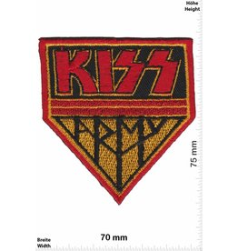 Kiss Kiss - Army - red
