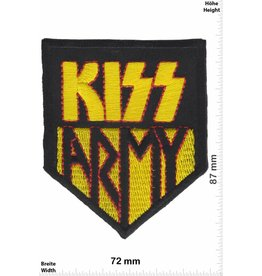 Kiss Kiss - Army - gold