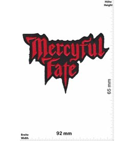 Mercyful Fate Mercyful Fate -Heavy-Metal-Band - red