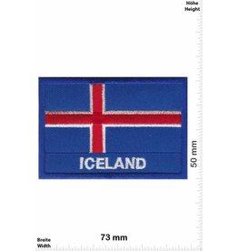 Iceland Flagge - Island -Iceland