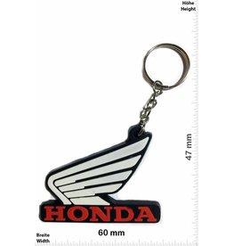 Honda HONDA - Flügel - weiss rot