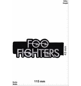 Foo Fighters Foo Fighters - US Rockband - silber