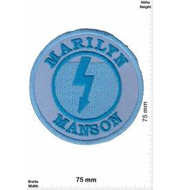 Marilyn Manson Marilyn Manson - round - blue