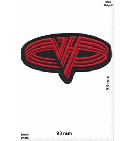 Van Halen Van Halen - red oval -Hard-Rock-Band