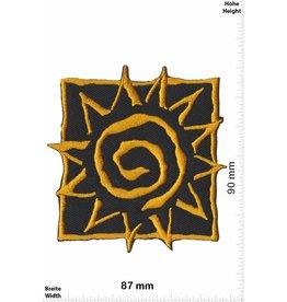 Sun Sonne - Sun - gold