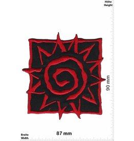 Sun Sonne - Sun - rot