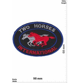 Two Horses Two Horses International - red black