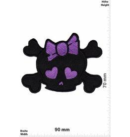 Skull Totenkopf - Lady - purple