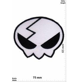 Alien weiss  Alien - Head - Kopf - white