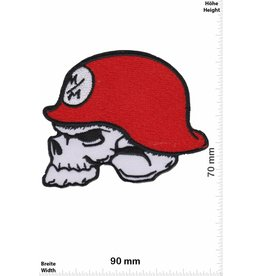 Monster Metal Mulisha - Energy - red - helmet