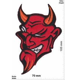 Teufel Roter Teufel - rot Devil head