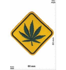 Marihuana, Marijuana Marihuana - Marijuana  - Schild