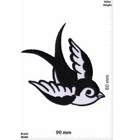 Vögel, Oiseau, Bird Bird rechts  / Vögel  - schwarz weiss