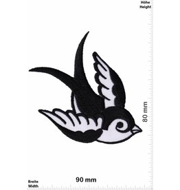 Vögel, Oiseau, Bird Bird right  - black white
