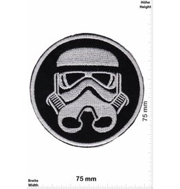 Star Wars Starwars - Troopers -Imperial Stromtrooper - silver border