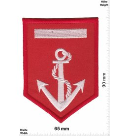 U.S. Navy Navy - red sillver - Anchor