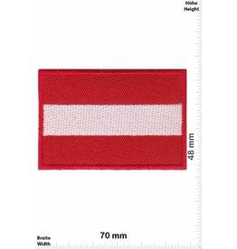 Österreich , Austria Flag -  Austria - red border