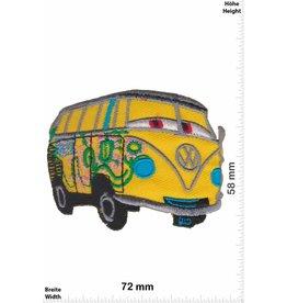 VW,Volkswagen VW Bus - Bully - gelb -Cars