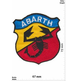 Abarth Abarth - blue yellow red