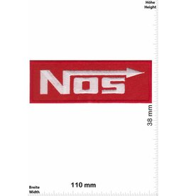 NOS NOS - Nitrous Oxide Systems - red