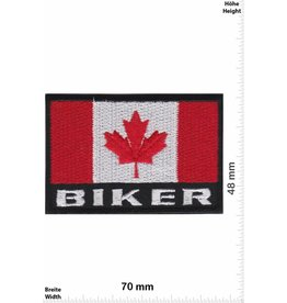 Kanada, Canada Biker Canada - Flag
