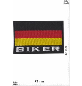 Deutschland, Germany Germany Biker Flag