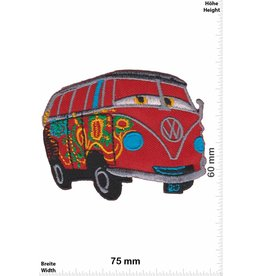 VW,Volkswagen VW Bus - Bully - red - Cars