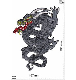 Bikerpatch Dragon - 23 cm