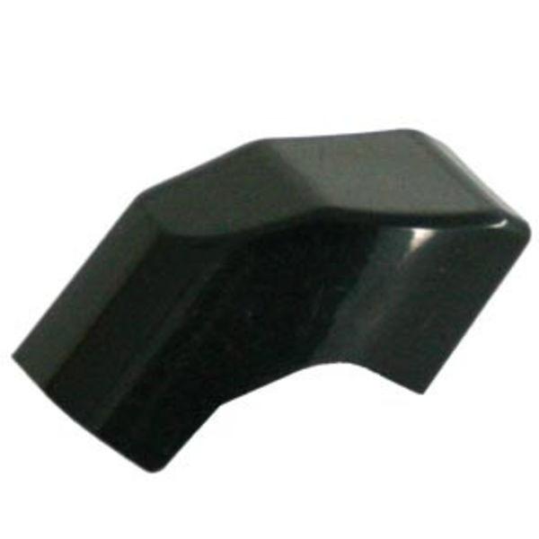 Axa knopje Solid zwart