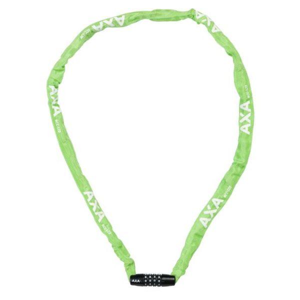 Axa cijfer kettingslot Rigid 120/3,5 groen