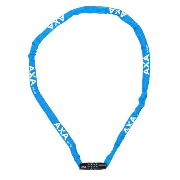 Axa cijfer kettingslot Rigid 120/3,5 blauw