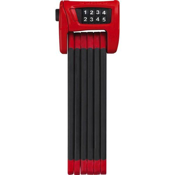 Abus vouwslot Bordo Combo 6100/90 SH rood