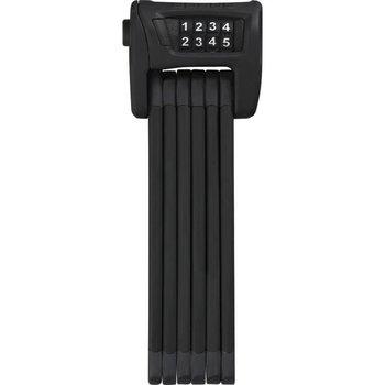 Abus vouwslot Bordo Combo 6100/90 SH zwart