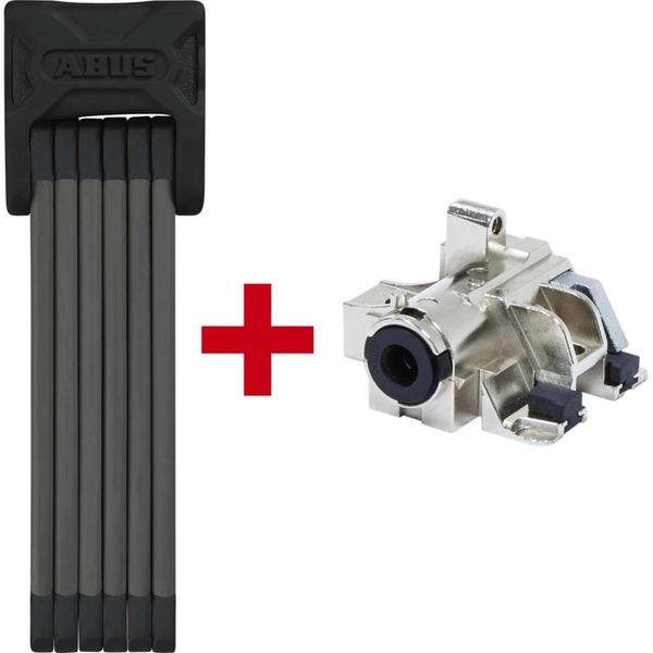 Abus vouwslot Bordo 6015/120 SH + accu frame slot