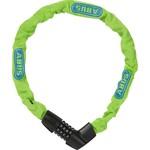 Abus cijfer kettingslot Tresor 1385/75 neon groen
