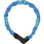 Abus cijfer kettingslot Tresor 1385/75 neon blauw