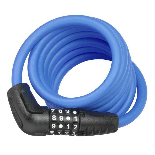 Abus cijfer kabelslot Numero 5510C/180 blauw met Snap Cage