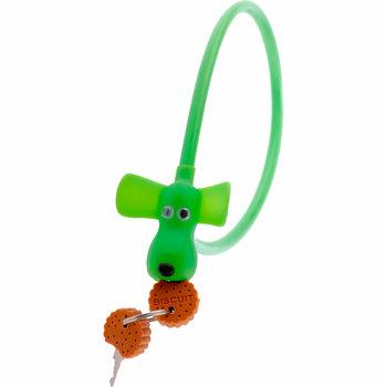 PexKids kabelslot Flappie de waakhond groen