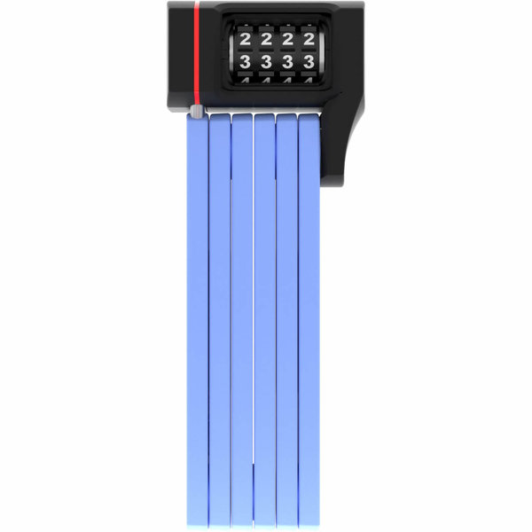 Abus vouwslot Bordo uGrip 5700C/80 blue SH